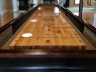 Shuffleboard Table Image.